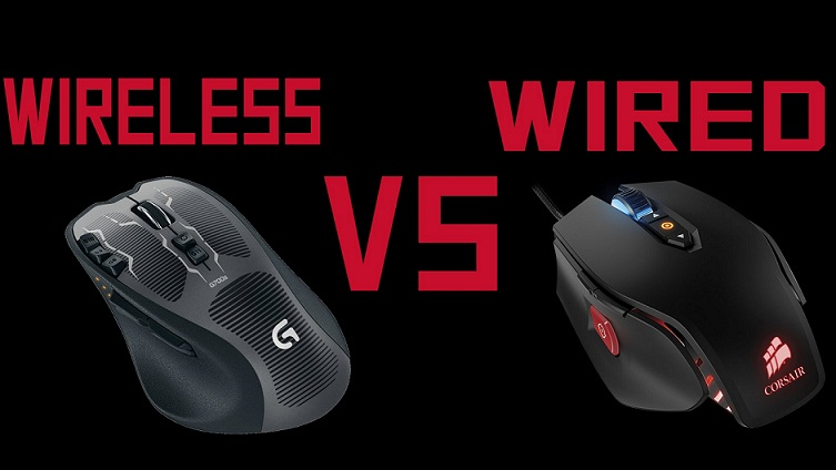 wired and wireless mouse