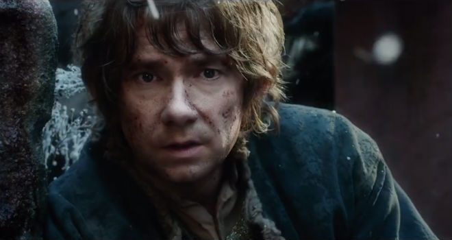 Martin Freeman stars in The Hobbit: The Battle of the Five Armies