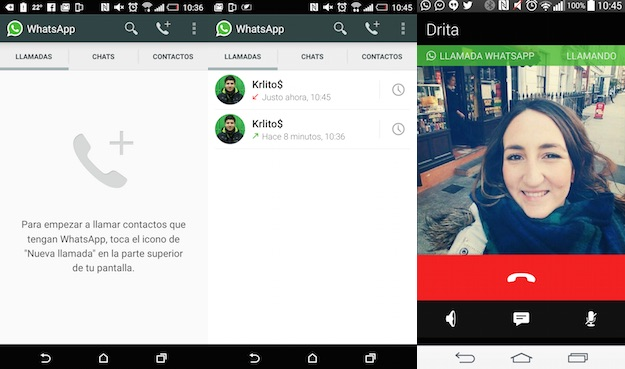WhatsApp voice calls now work on Android