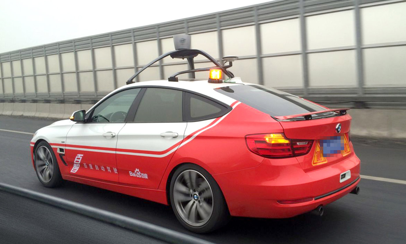 Baidu will soon test its self-driving cars in the US