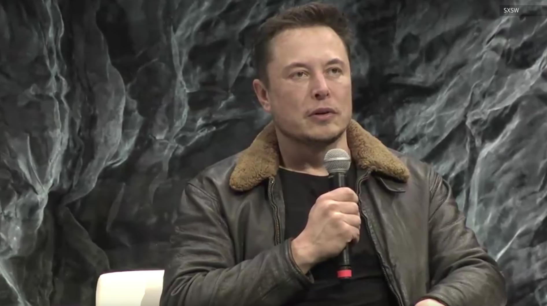 Stream: Elon Musk bei SXSW 2018