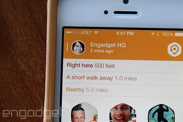 Swarm inherits Foursquare's social roots, tells you where your friends are