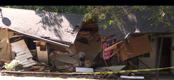 Pissed Off Tennessee Guy Allegedly Bulldozes His Neighbor's House