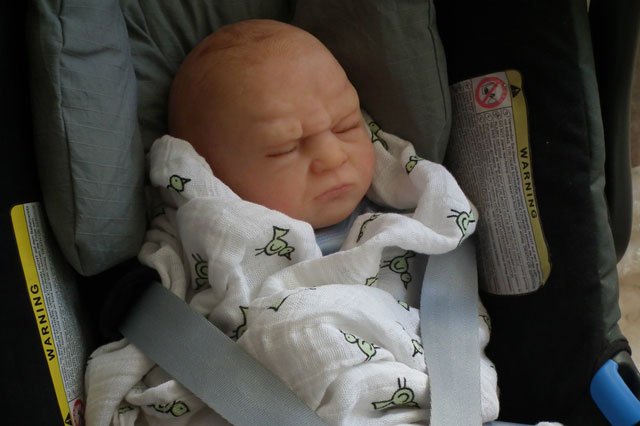 Prince George Reborn doll sells on ebay