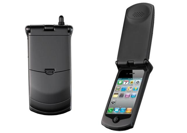 iphone retro case flip