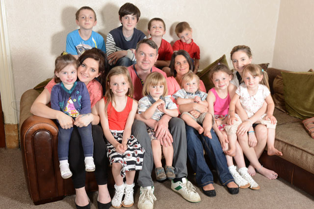 Britain's biggest family: Sue and Noel Radford expecting 17th baby