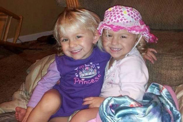 Two-year-old twin sisters drowned three days after parents' wedding