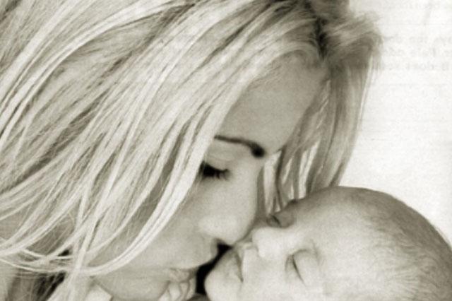 Katie Price shares photo of baby daughter