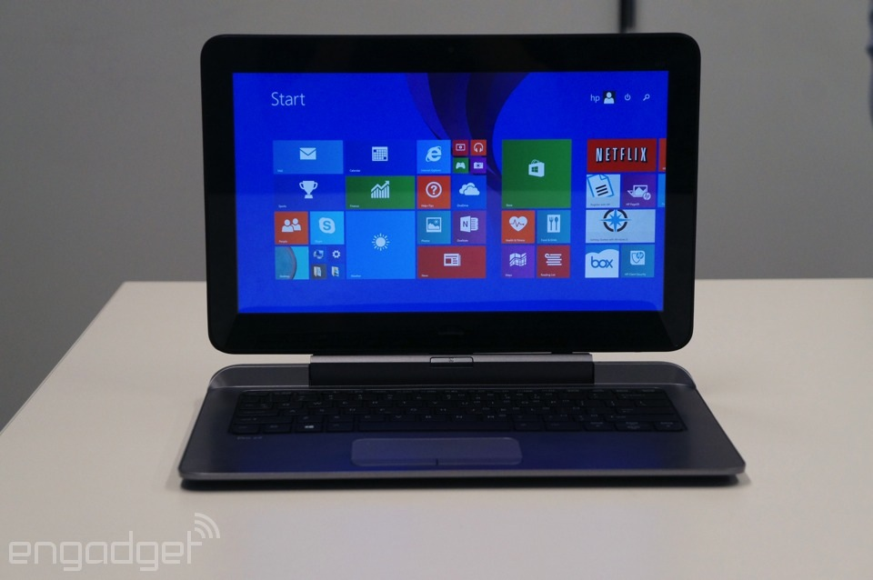 HP's Pro x2 612 laptop-tablet hybrid brings pen support, a sturdy keyboard