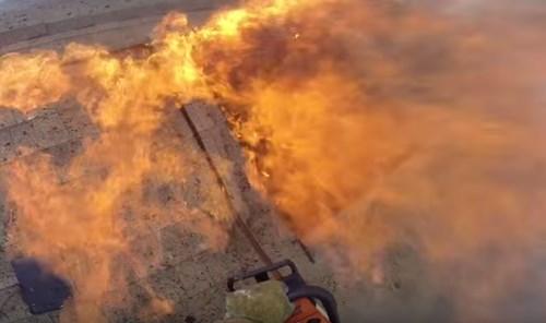 バックドラフトかよ!消防士の目線で消火活動を見る緊迫映像がスゴすぎる
