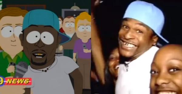 本物もウザキャラ!? アニメ『サウスパーク』に出てくる陽気な黒人に実在のモデルがいた!