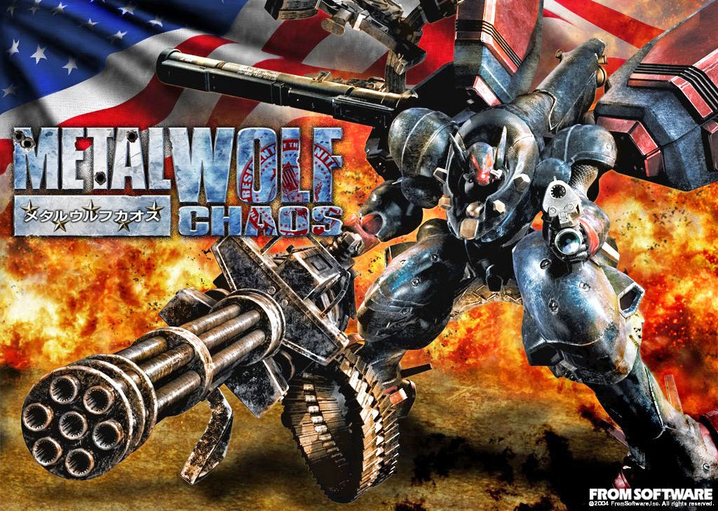 photo image 'Metal Wolf Chaos' is Michael Bay's brain in video game form