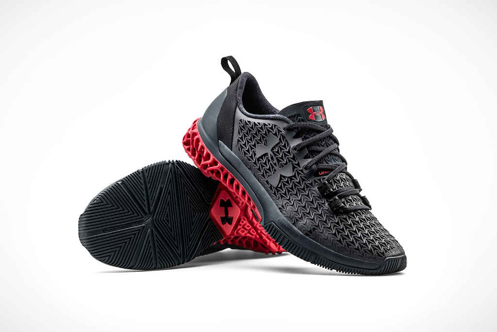 Under Armour will sell partially 3D-printed shoes for $300
