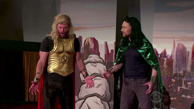 Thor Ragnarok 4D: Papp-Version mit Original-Stars