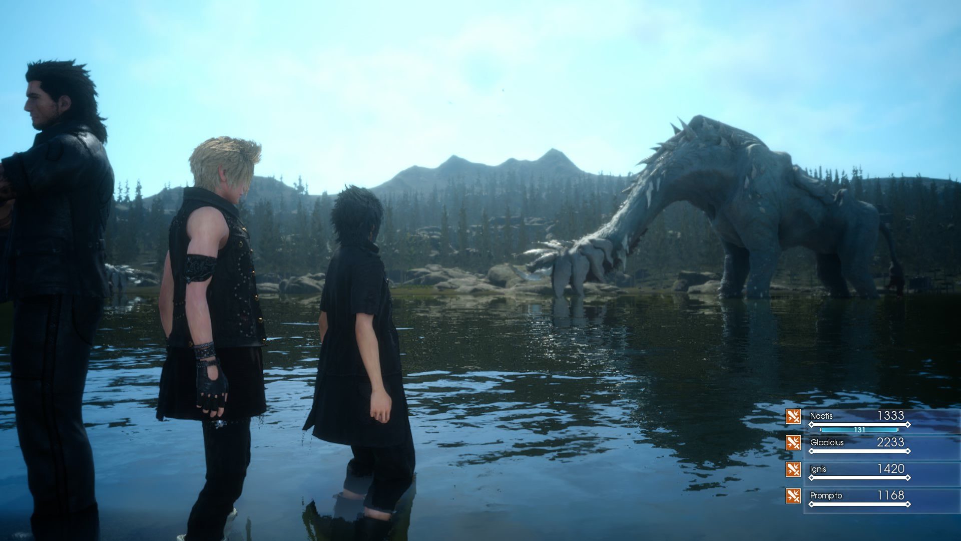 Final Fantasy XV has a release date, demo, movie, anime series, AND mobile game