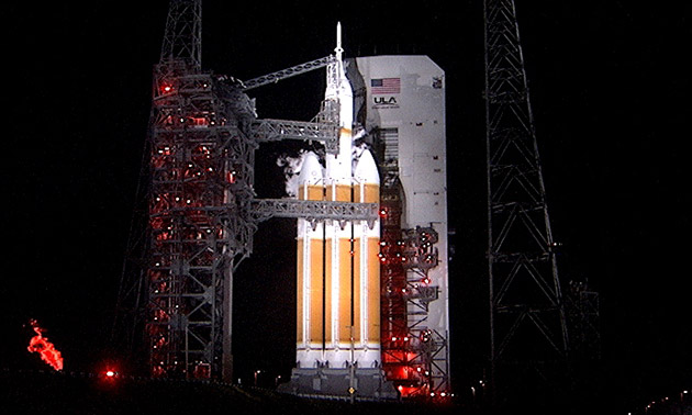 NASA's Orion capsule begins its 3,600-mile journey into outer space