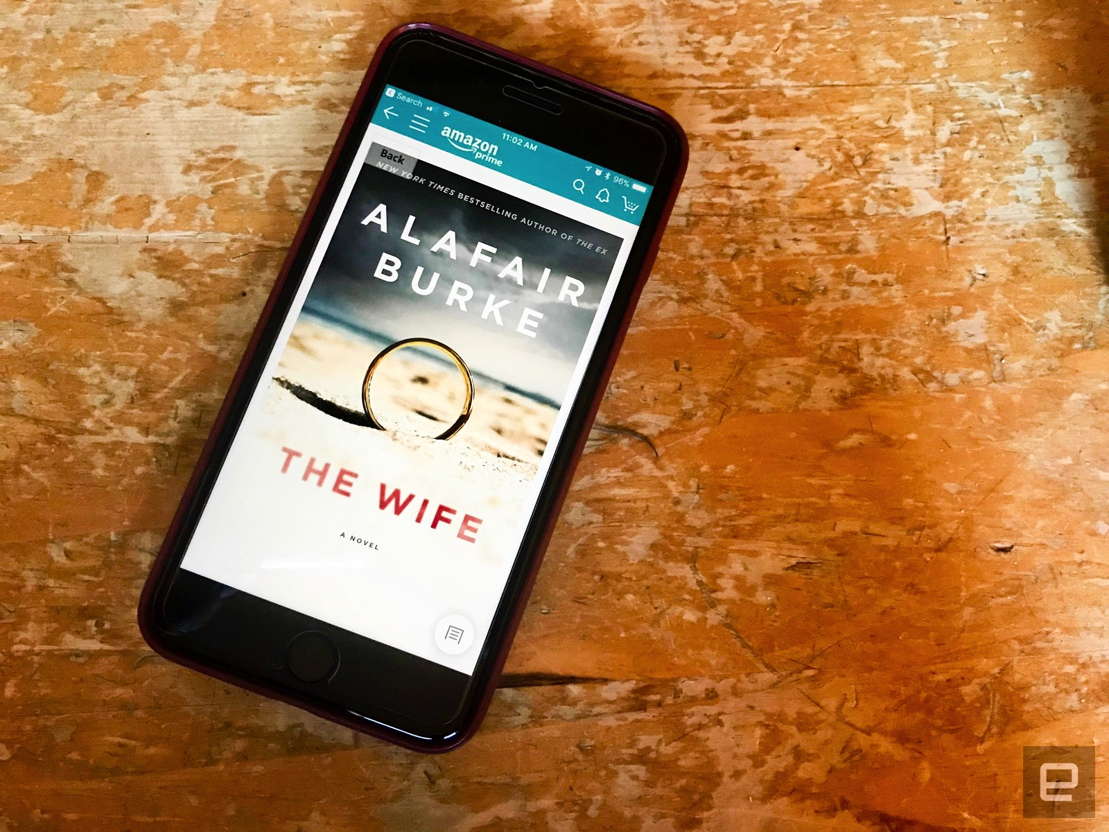 Amazon secures movie rights for Alafair Burkes thriller The Wife