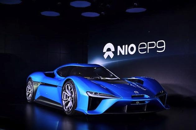 NextEVが、ついに1,360馬力の電動ハイパーカー「NIO EP9」をロンドンで発表!