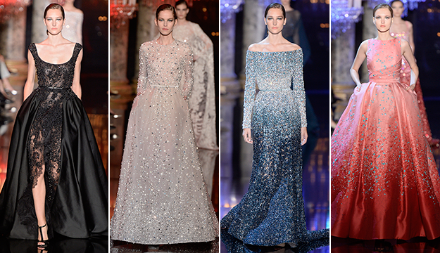Really pretty dresses from Elie Saab Haute Couture