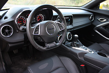 2016 chevrolet camaro - Camaro 2016 Interior
