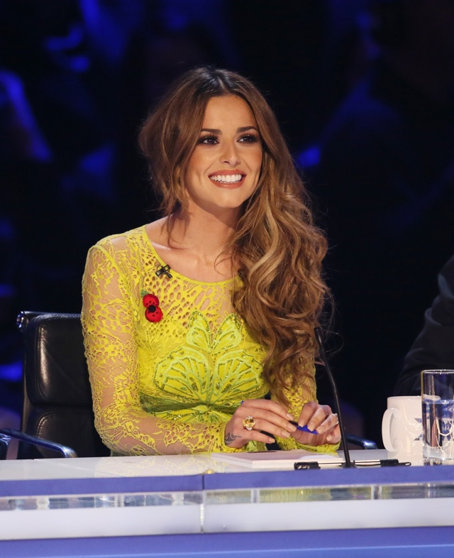 Cheryl Fernandez-Versini dazzles in £1m worth of jewellery on The X Factor