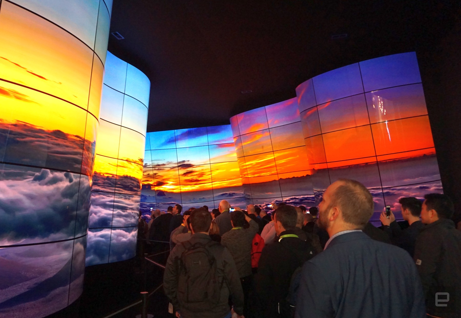 photo image The TVs that mattered at CES