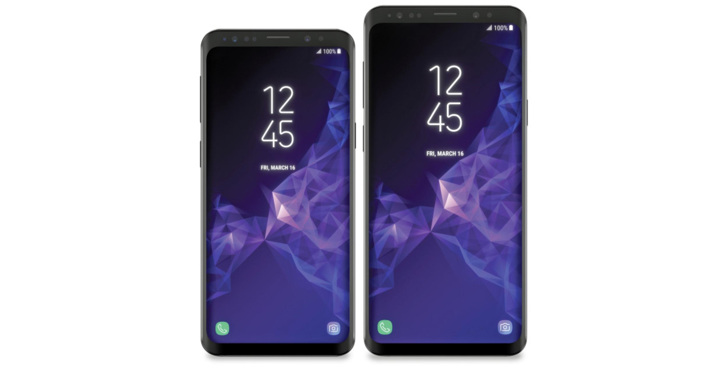 Offizielles Foto zeigt Galaxy S9 und S9+