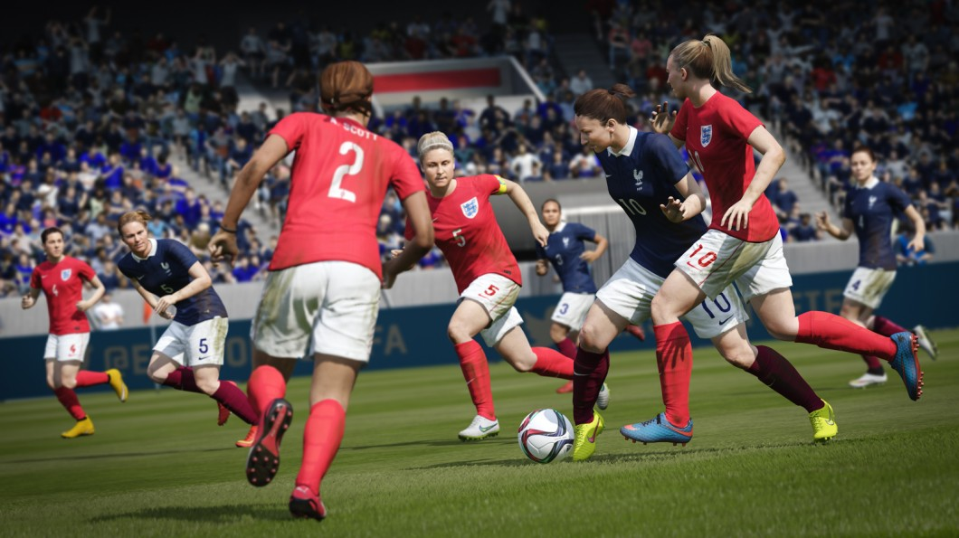 photo image Behind EA's push to put more women in sports games