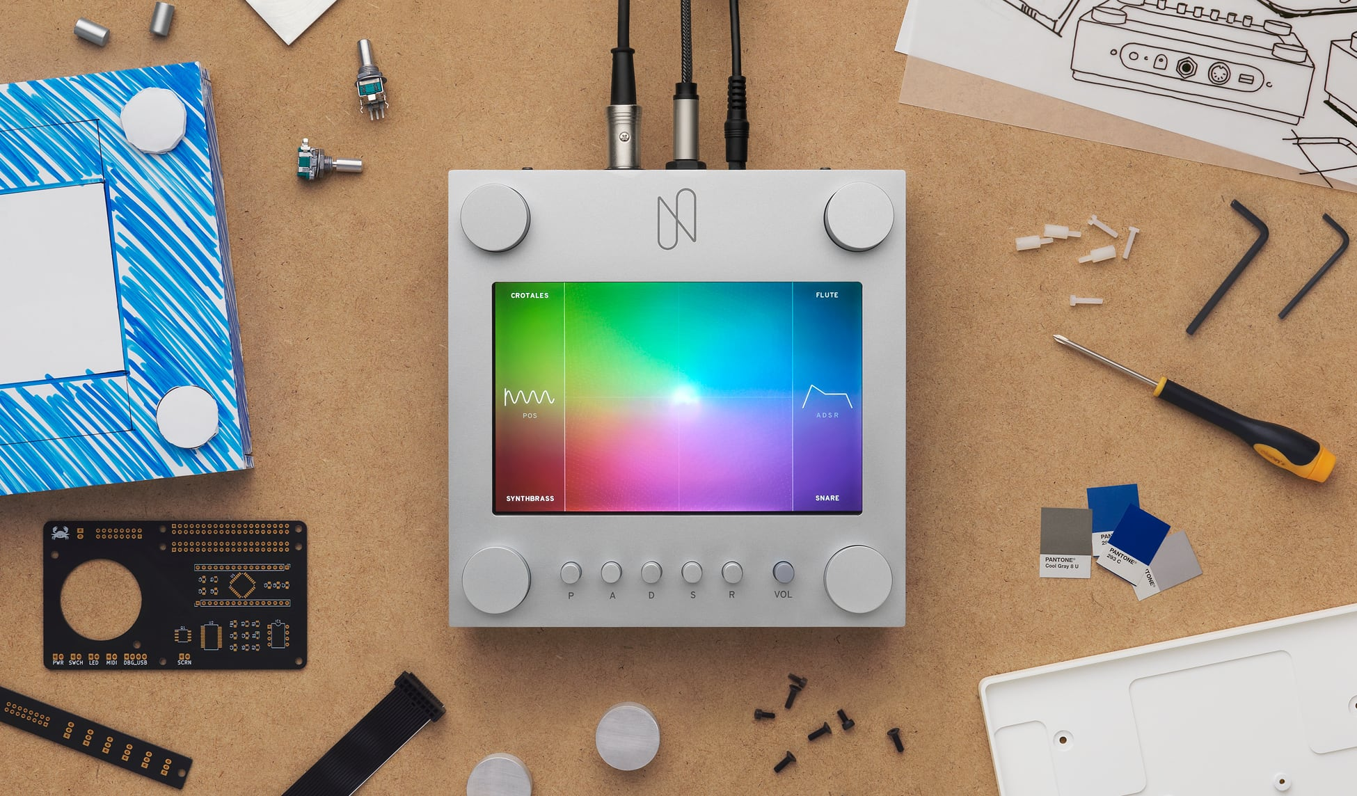 photo image Google built a hardware interface for its AI music maker