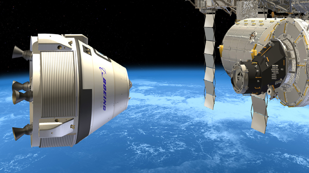 Boeing and SpaceX will shuttle American astronauts to the ISS