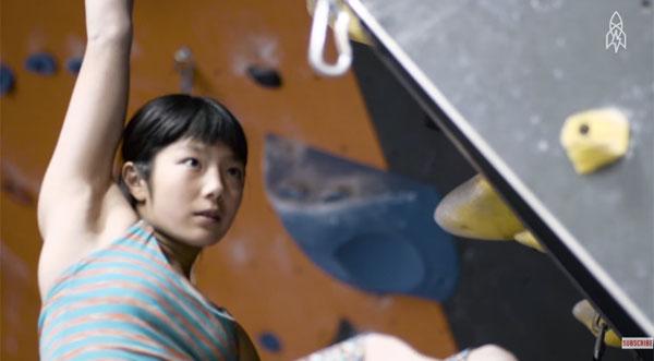 世界最強の美少女ロック・クライマー、白石阿島(14歳)がカッコよすぎる【動画】