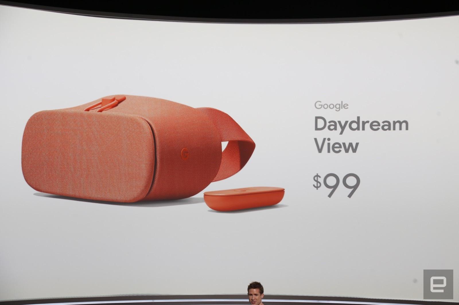 El nuevo casco DayDream de Google cuesta 99 dólares
