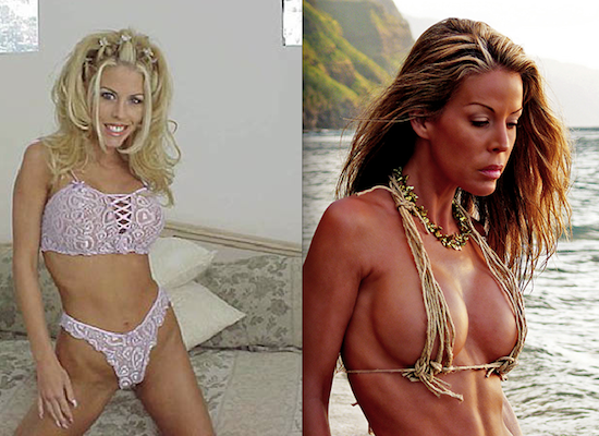 pornstars then and now