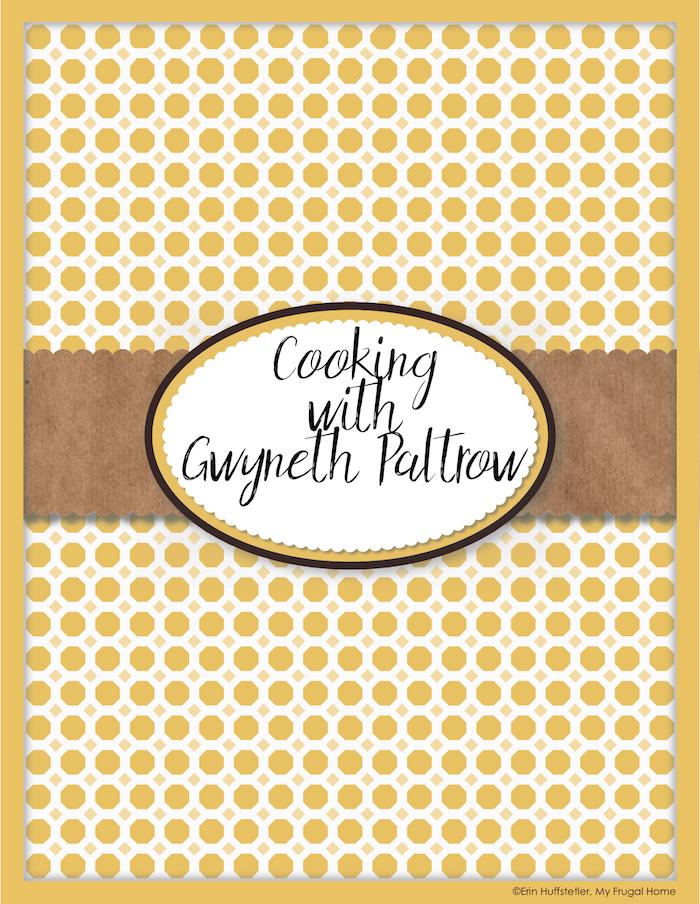 gwyneth paltrow's secret cookbook