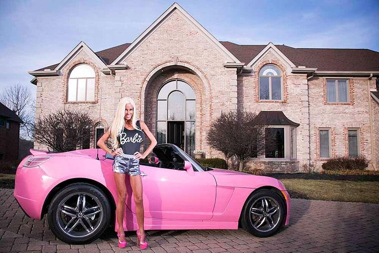 ohio mom human barbie doll, $500,000 human barbie
