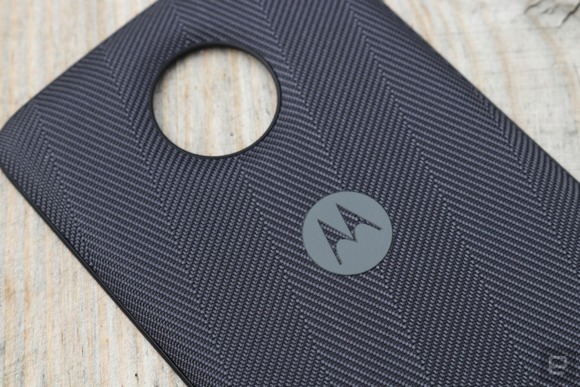 Moto Z2 Play Style Shell für induktives Laden