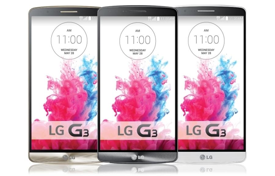 LG G3 se presenta con estilo metálico y pantalla Quad HD