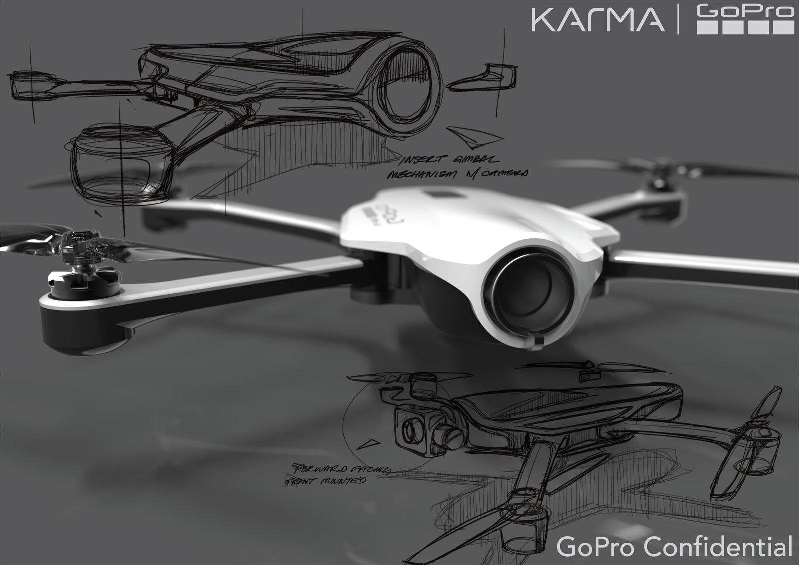 GoPro 的第一款航拍機 Karma 是這樣煉成的