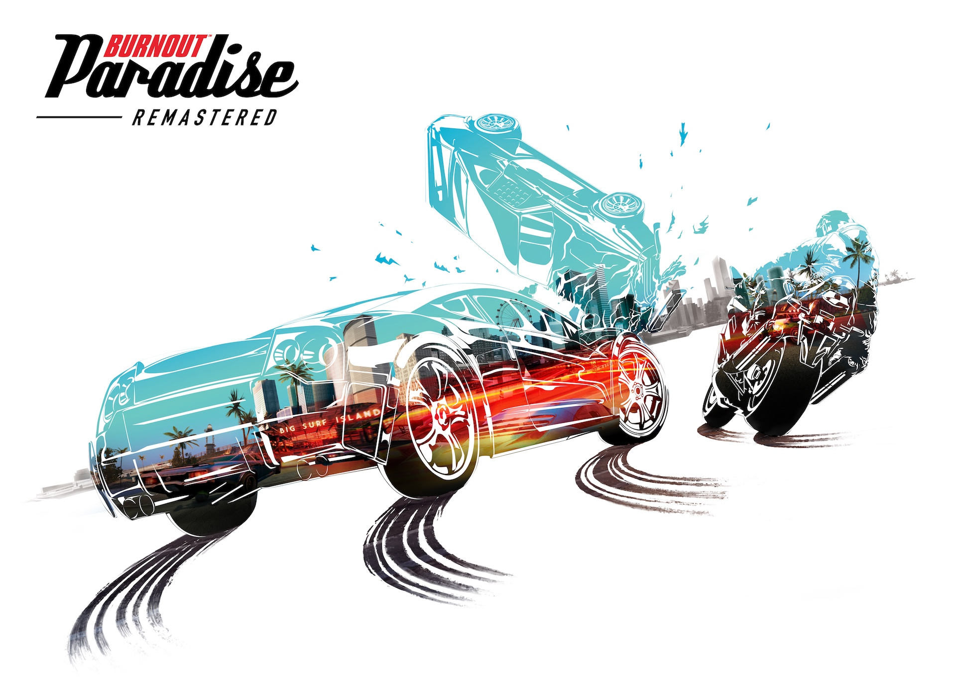 'Burnout Paradise' is back with a $40 4K remaster March 16th