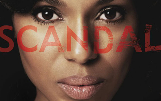 Scandal kerry washington series three