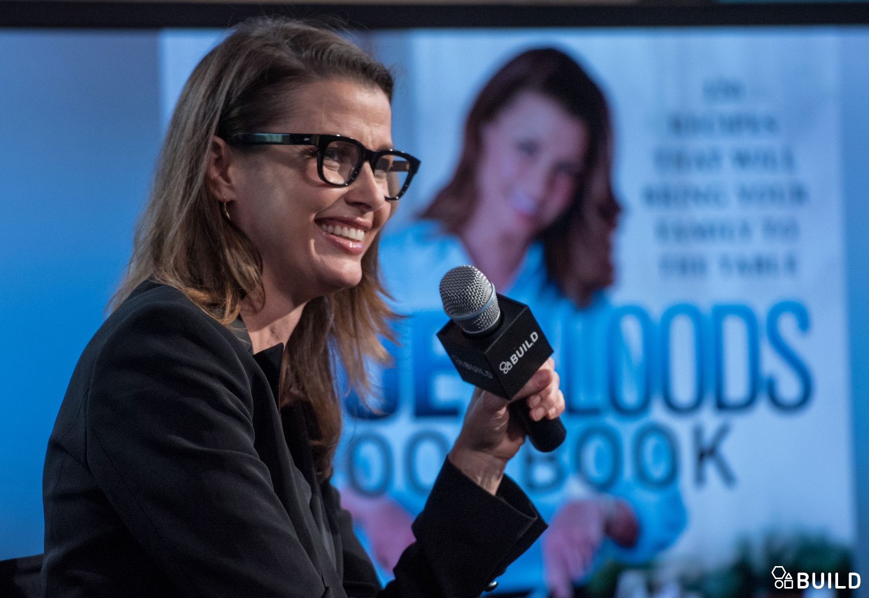 Bridget Moynahan visits AOL Hq for Build on November 13, 2015 in New York. Photos by Noam Galai