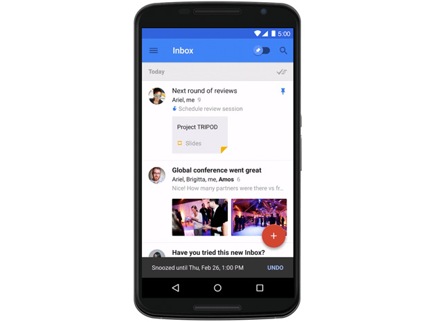 Google's Inbox email app will soon be work-friendly