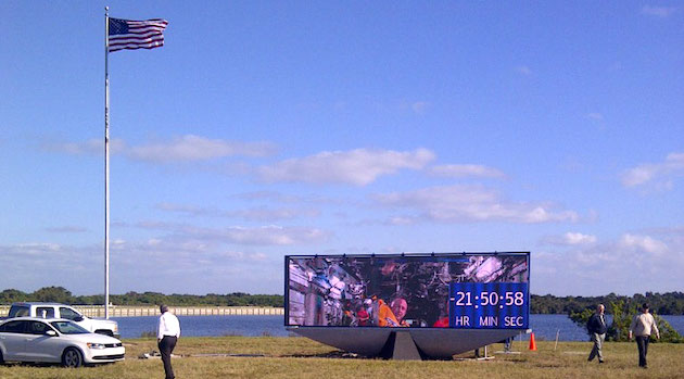 NASA's mission countdown clock is getting a digital upgrade
