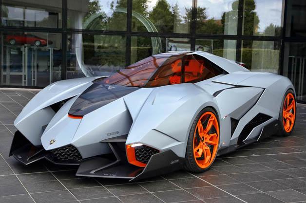 Egoista Concept Comes Home To Lamborghini Museum