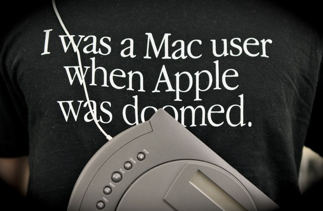 back when apple was doomed tshirt