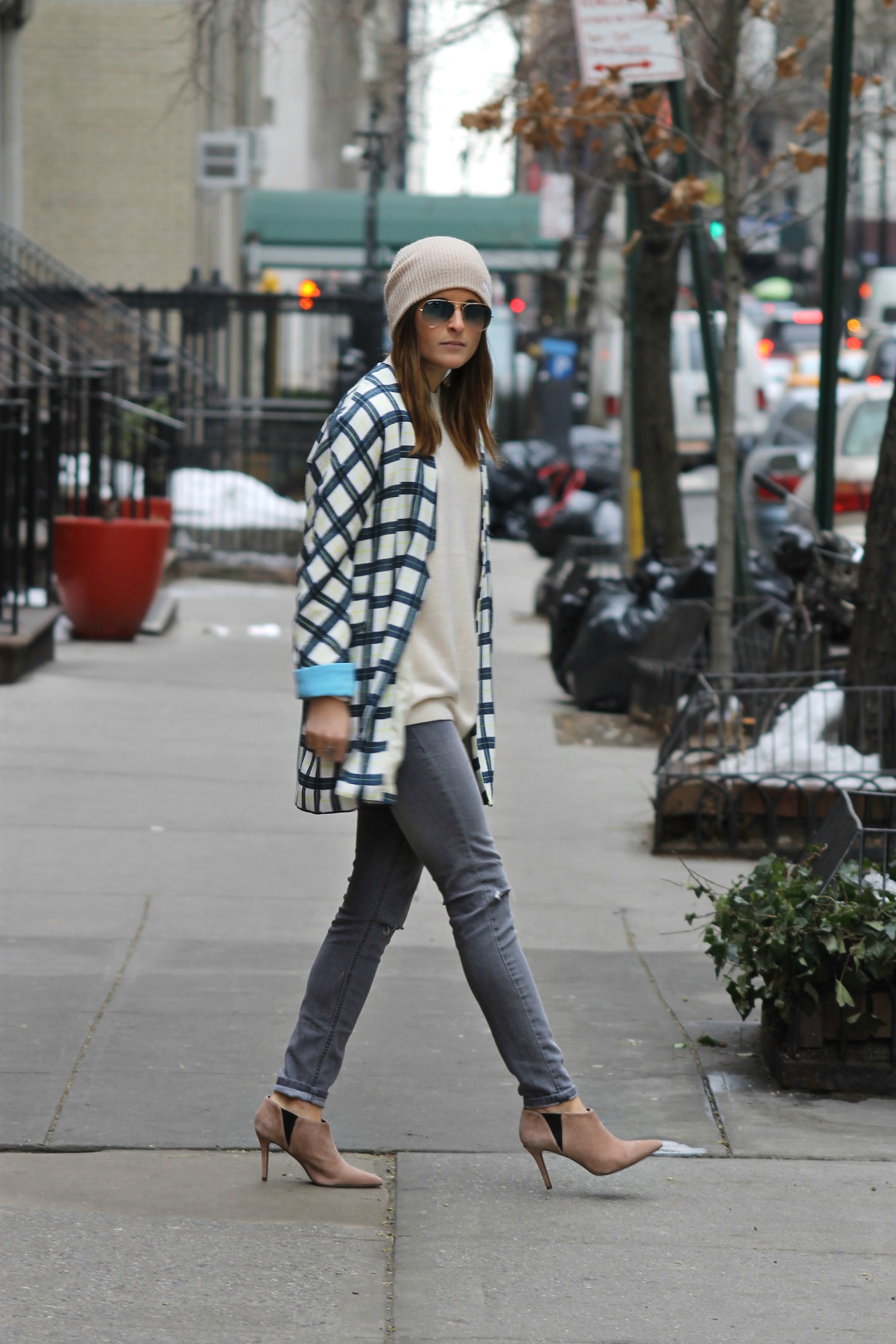 Street style tip of the day: Check yourself