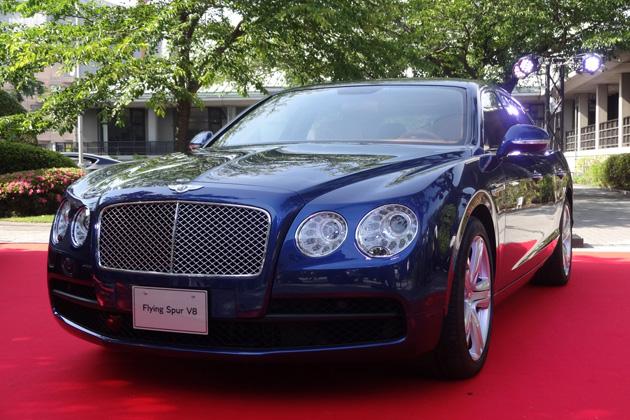 コーンズ・モータースが、「ベントレー フライングスパーV8」を英国大使館で発表!