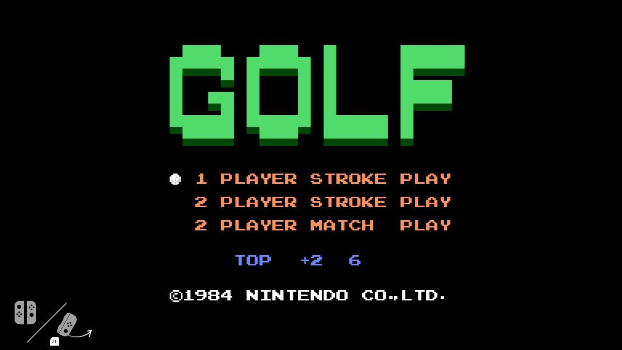 El juego oculto de golf de la Nintendo Switch ha desaparecido