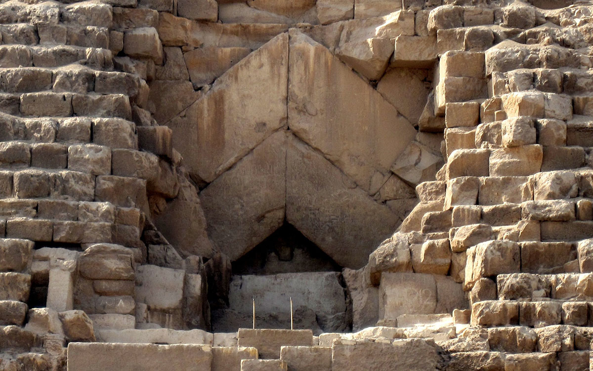 Egypt hunts for hidden pyramid chambers with cosmic rays