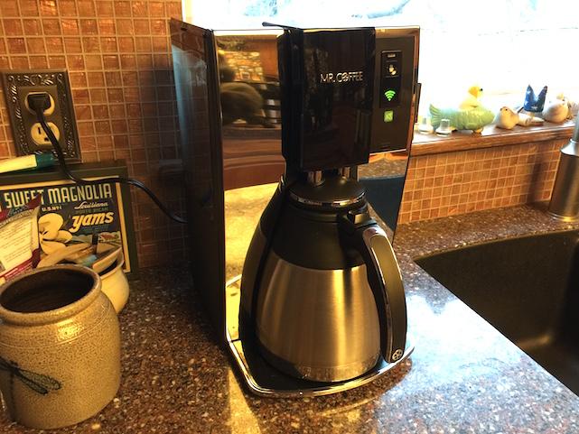 Mr. iPhone, meet Mr. Coffee